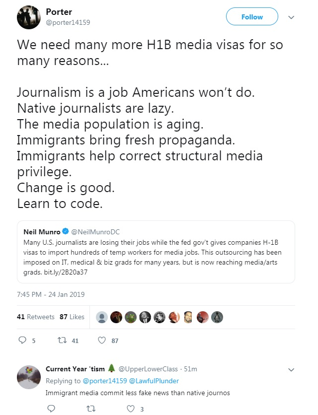 Journos Meltdown After Being Told 'Learn To Code' In Wake Of