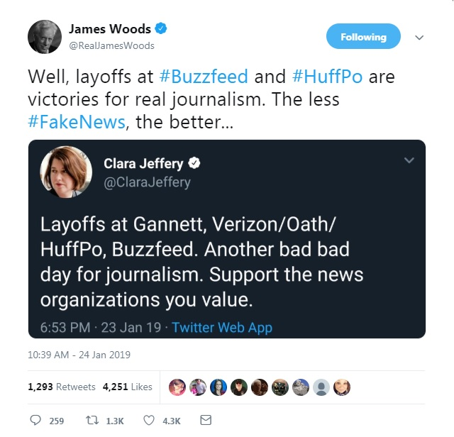 Journos Meltdown After Being Told 'Learn To Code' In Wake Of Mass Layoffs At HuffPo, Buzzfeed