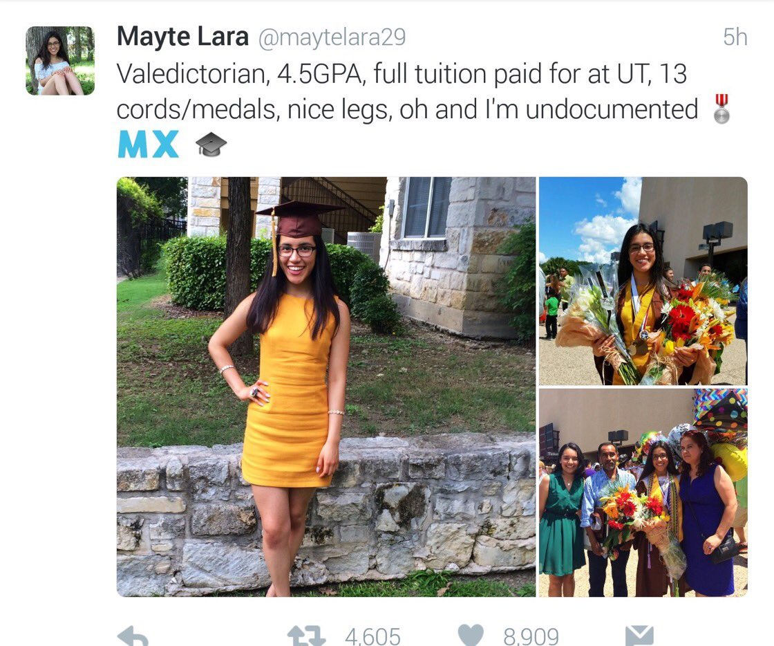 Illegals Openly Brag About $300k Scholarships on Twitter