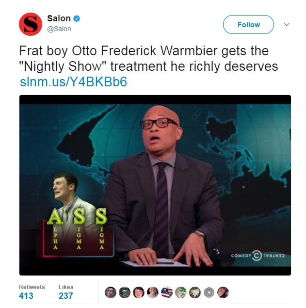 Flashback: HuffPo Said 'Arrogant' Otto Warmbier Deserved to Be Imprisoned Because He's White