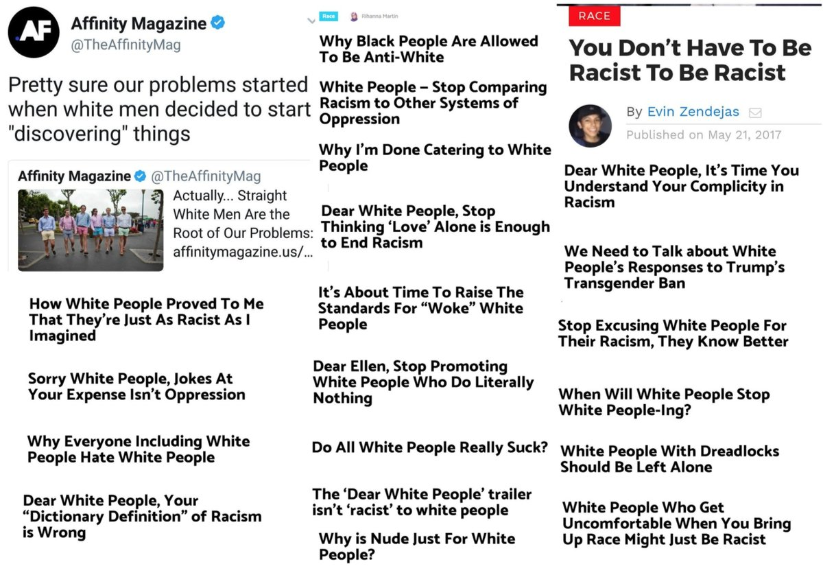 race and white racism