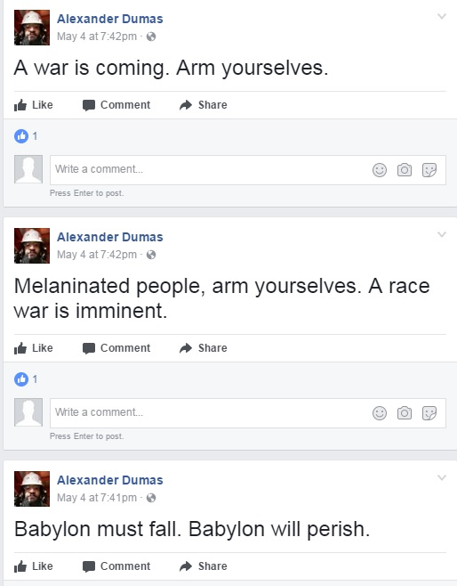 'Soon, The White Devils Will Be Exterminated': DC ISIS Sympathizer Arrested Buying AK-47 For 'Race War'