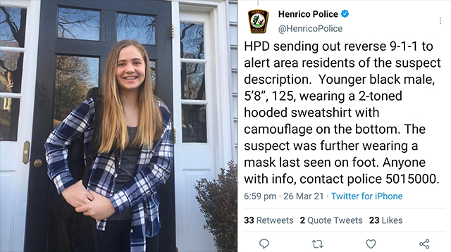 Her Name Was Lucia Whalen Bremer: 13yo Girl Shot Dead By 'Juvenile' Thug While Walking In Virginia Suburb 5