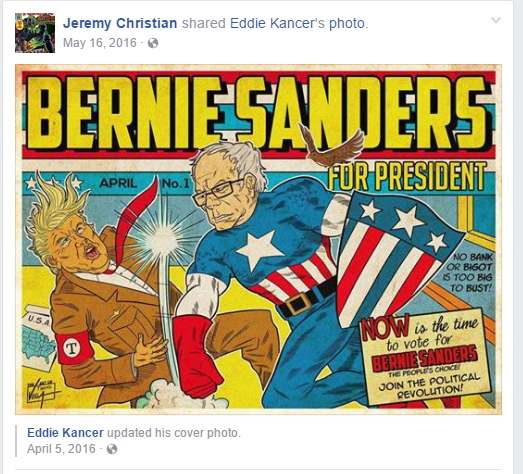 'White Supremacist' Portland Stabber Was A Bernie Supporter, Threatened to Kill Trump Supporters