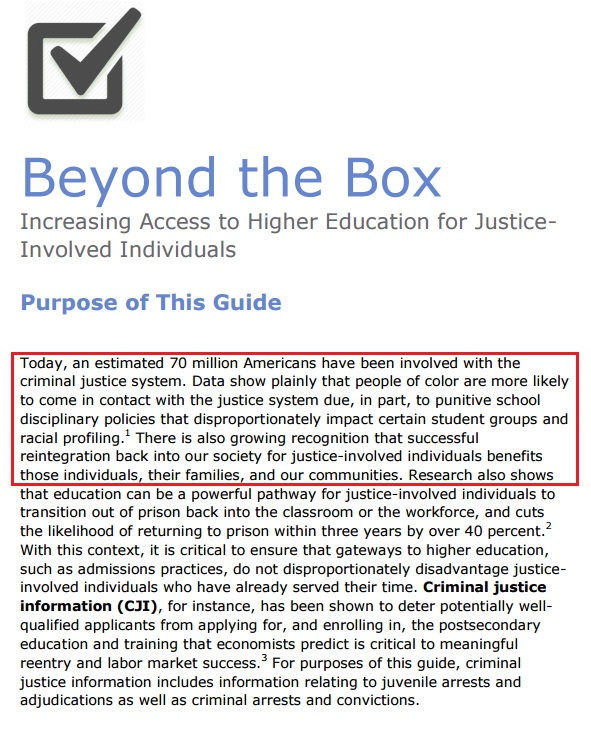 the unprecedented rise of individuals involved in american criminal justice system