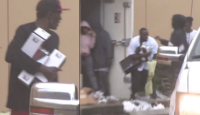 Video Looters Hit Foot Locker And More During Hurricane Irma