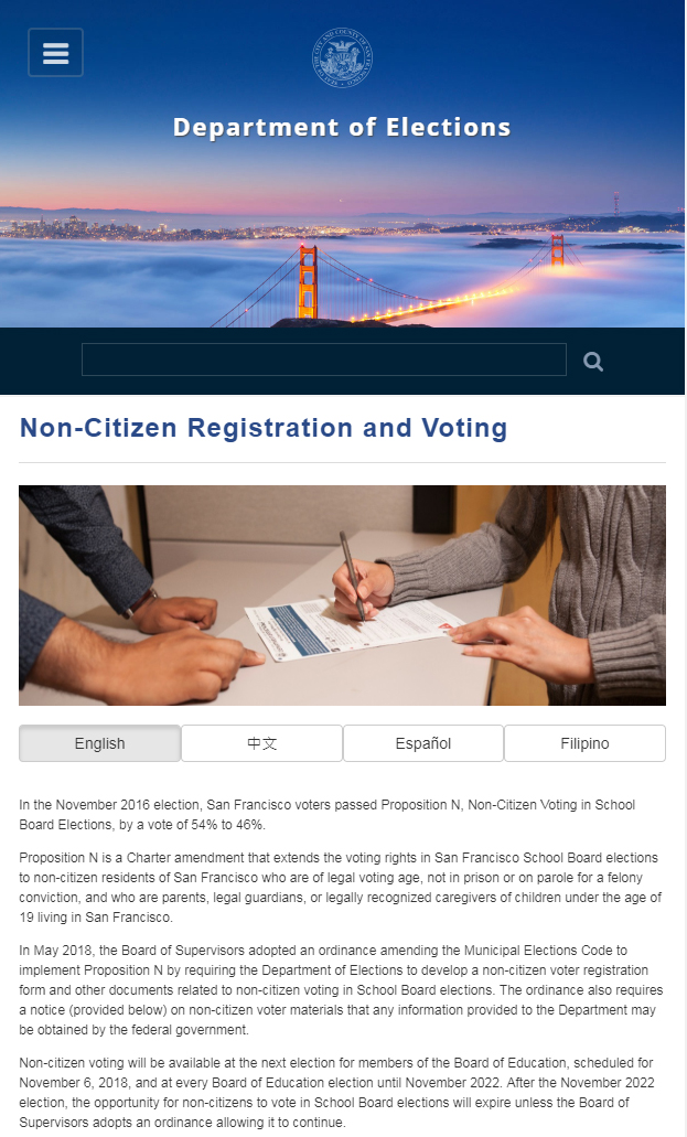 San Francisco Gives Illegal Aliens The Right To Vote