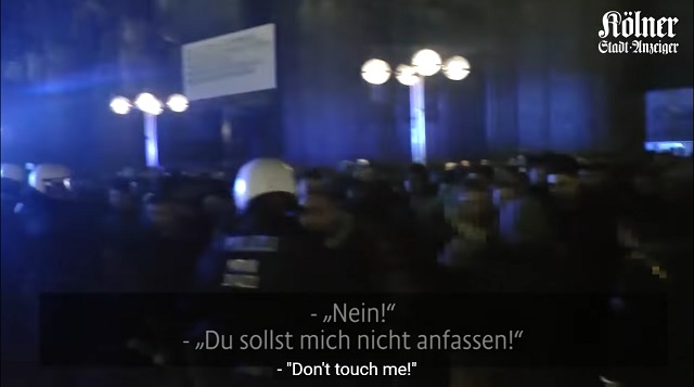'No! Don't Touch Me!' German Police Release Shocking Footage From Cologne On New Year's Eve 2015