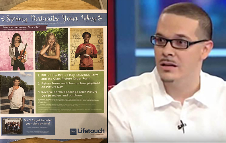 Shaun King Mocked After Slamming School Portrait Company For 'Racist