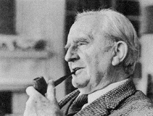 Young Christopher Tolkien