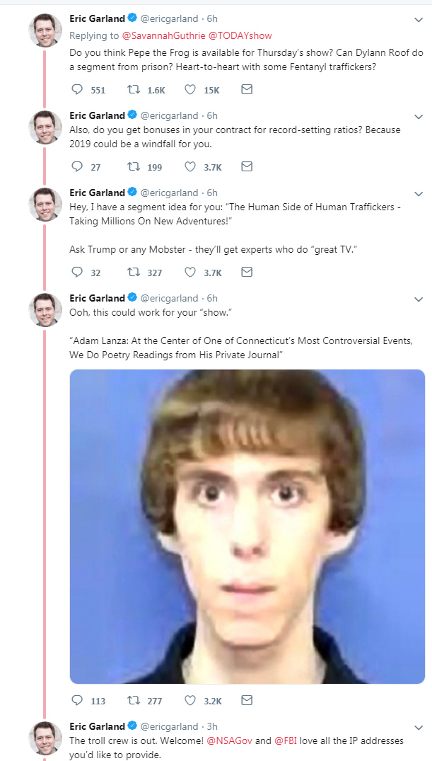 Twitterati Slam Guthrie For Interviewing Nick Sandmann, Compare Him to Adam Lanza, Dylann Roof And Hitler
