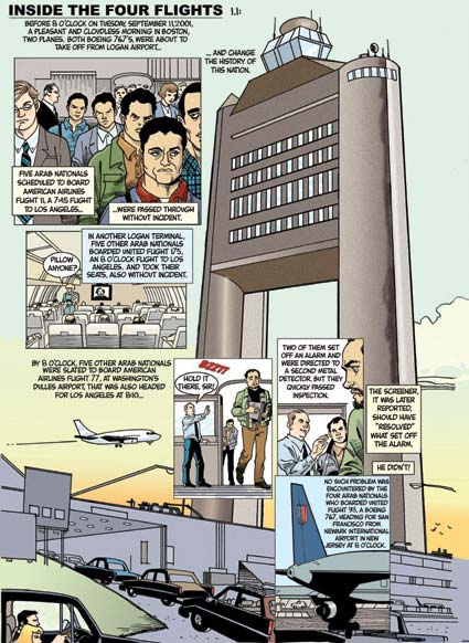 9/11 report comic book 9/11 in comics comics rise to meet in comic book form, beyond the 911 commission report there have been 911 responses in comic book form.