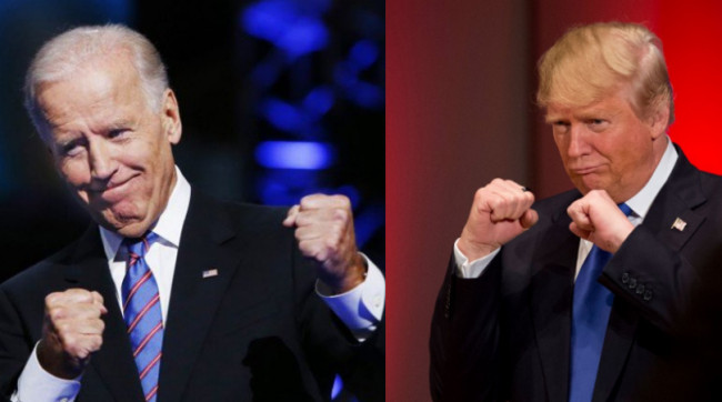 CAGE MATCH 2020! President Trump Says He'd Kick Joe Biden's Ass