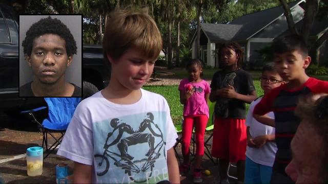 Florida Black Teens Rob 9 Yr Old White Kid Selling Lemonade
