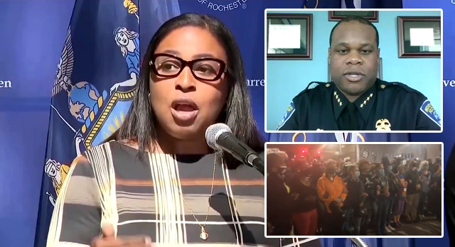 Rochester Police Chief, Entire Command Staff Retire After Mayor Enlists 'Elders' to Serve As Human Shields Against Them