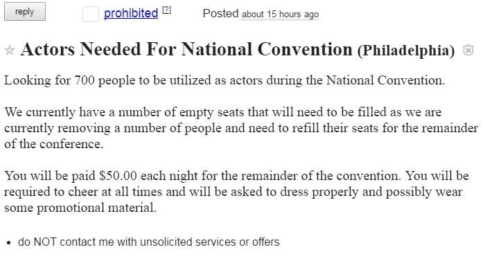 WATCH: Bernie Delegate Interviews Seat Filler at the DNC!