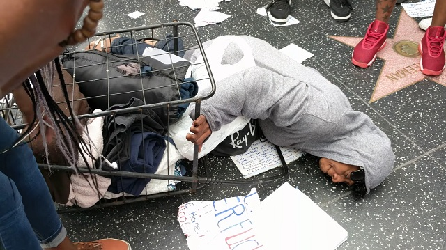 homeless-trump-... Hillary Supporters Attack Trump Supporters