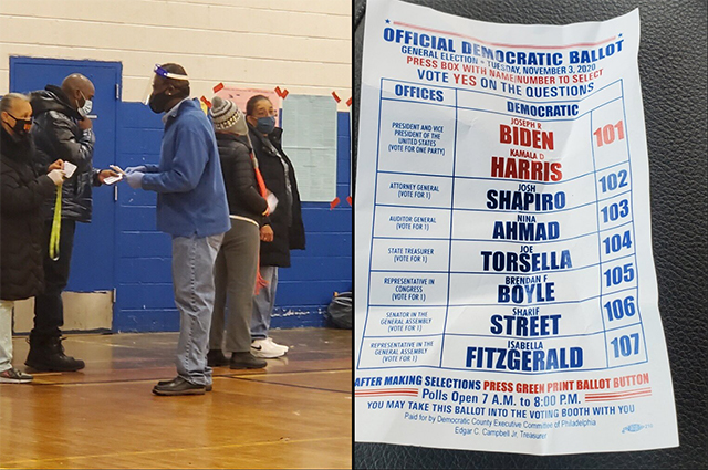 Dems Caught Cheating In Philly, Handing Out Dem Voting Guides Inside Polling Site, Blocking GOP Poll Watchers, Voting Machines Down (informationliberation.com)