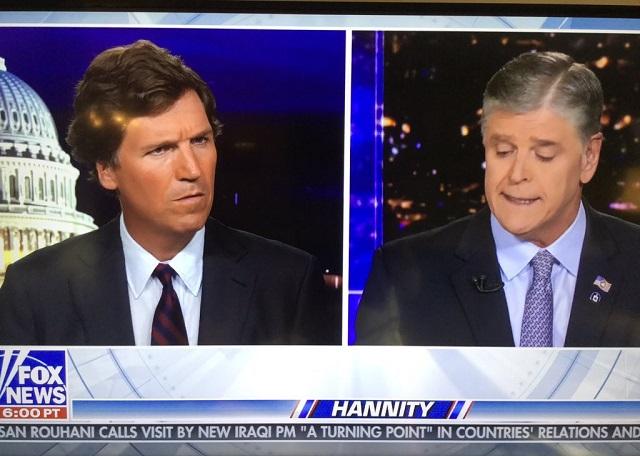 Hannity Apologizes 'For Any Misunderstanding' After Pushing Back Against Tucker Segment Bashing Bezos